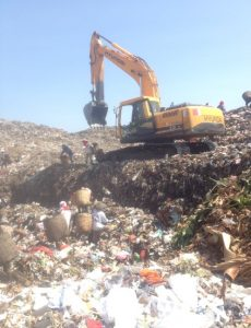 Survey Of Waste Composition And Environmental Risk Assessment For Landfill Mining
