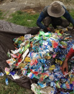 Trial And Analysis On Manual Sorting Of Flexible Plastic In Landfill